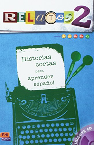 9788498485295: Relatos 2 (Libro + CD) (Material Complementario)