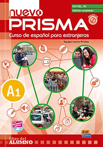 9788498486001: Nuevo Prisma A1 Student's Book Plus Eleteca (Spanish Edition)