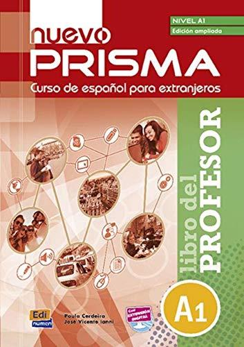Nuevo Prisma A1 Libro del Profesor Edicion Ampliado+ CD (Enl: Paula Cerdeira