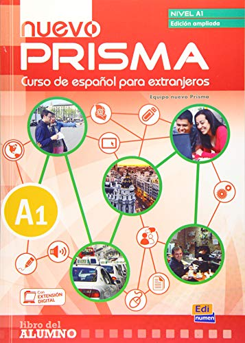 9788498486049: nuevo Prisma A1 alumno+CD Edic.ampliada