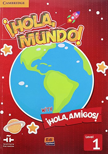 Hola, Mundo!, Hola, Amigos! Level 1 Value Pack (Student's Book Plus CD-ROM, Activity Book) (...