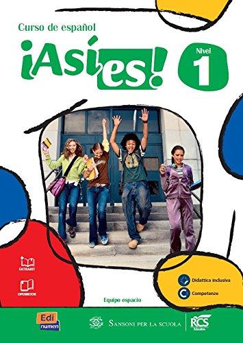 9788498486209: Asi es. Per la Scuola media! Con e-book. Con espansione online: 1