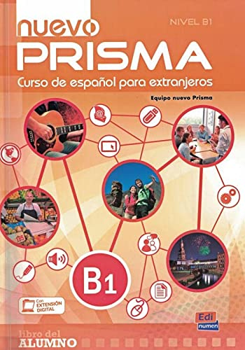 9788498486360: nuevo Prisma B1 - Libro del alumno (Español Lengua Extranjera)