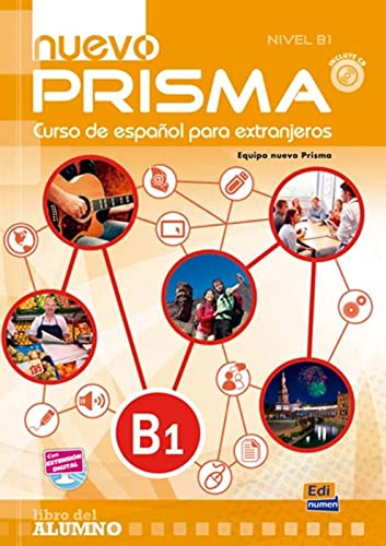 9788498486377: Nuevo Prisma B1 : Libro del alumno (1CD audio MP3)