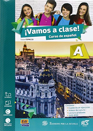 9788498488265: Vamos a clase. Con Lectura A-Extrakit. Per la Scuola media. Con DVD-ROM. Con e-book. Con espansione online: 1