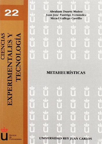 9788498490169: Metaheurísticas (Spanish Edition)
