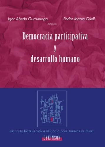 9788498490770: Democracia Participativa Y Desarrollo Humano (Spanish Edition)