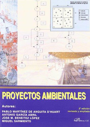 9788498493177: Proyectos ambientales