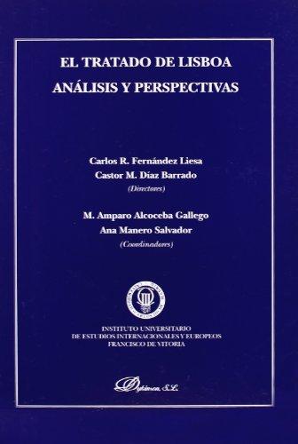 9788498493757: TRATADO DE LISBOA ANALISIS Y PERSPECTIVAS