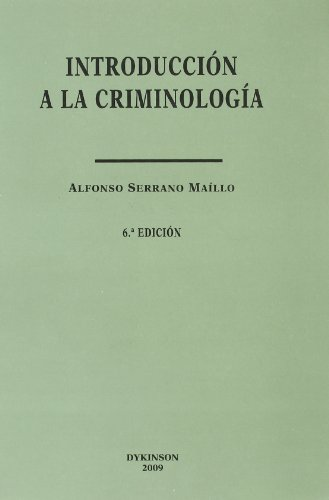 9788498497649: INTRODUCCION A LA CRIMINOLOGIA (6º ED.2009)