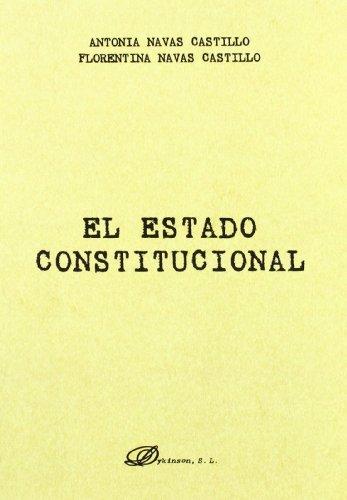 9788498498073: El Estado Constitucional