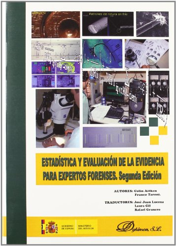 9788498498493: Estadistica y evaluacion de la evidencia para expertos forenses / Statistics and the Evaluation of Evidence for Forensic Scientists (Spanish Edition)