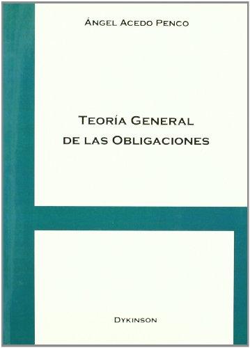 9788498499124: Teoría general de las obligaciones