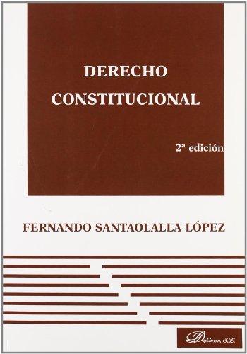 9788498499834: Derecho Constitucional (2ª Edición)