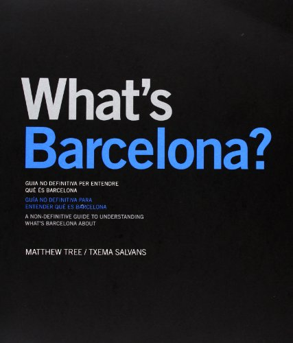 9788498501773: What's Barcelona? (Català/Castellà/Anglès)