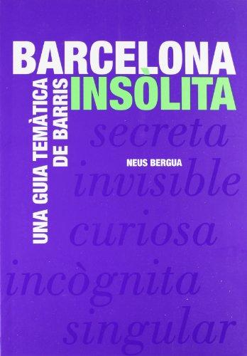 9788498502367: Barcelona insòlita