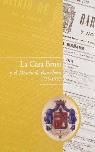 9788498502527: La Casa Brusi y el Diario de Barcelona 1775-1957