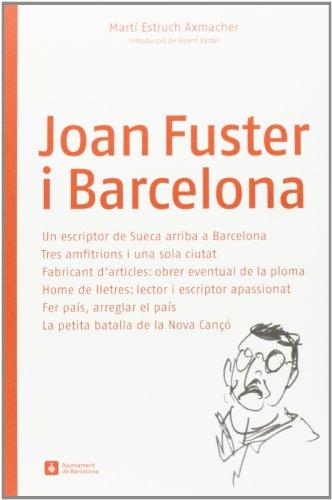 9788498504293: Joan Fuster i Barcelona
