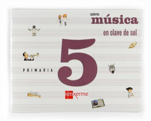 9788498541779: Música, En clave de sol [Gallego]. 5 Primaria. Caderno