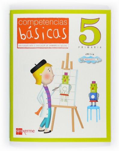 Cad.competencias basicas 5ºprim. *en galego*: Guerra Reboredo, Alfonso/Peña