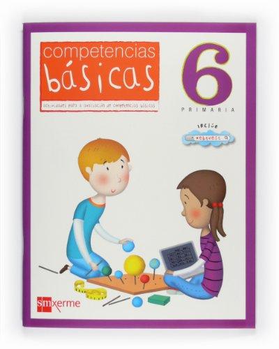 Cad.competencias basicas 6ºprim. *en galego*: Guerra Reboredo, Alfonso/Peña
