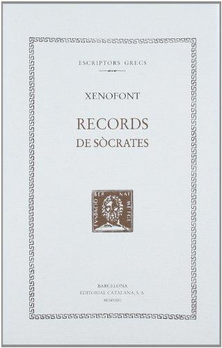9788498591590: Records de Sòcrates (Bernat Metge)