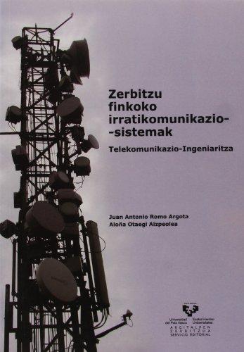 9788498601312: Zerbitzu finkoko irratikomunikazio-sistemak. Telekomunikazio-Ingeniaritza