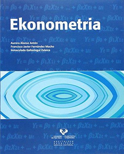 9788498603583: Ekonometria (Vicerrectorado de Euskara)