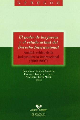 EL PODER DE LOS JUECES Y EL: SANCHEZ RODRIGUEZ, L.