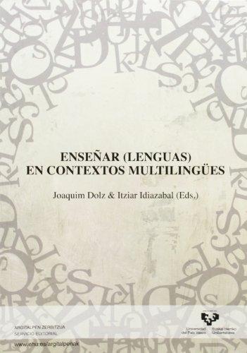 9788498608380: Enseñar (lenguas) en contextos plurilingües