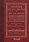 9788498623215: Tratado de los delitos y de las penas (Derecho)