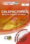 9788498632064: Oposiciones Calefactores Servicio Andaluz de Salud (SAS). Test