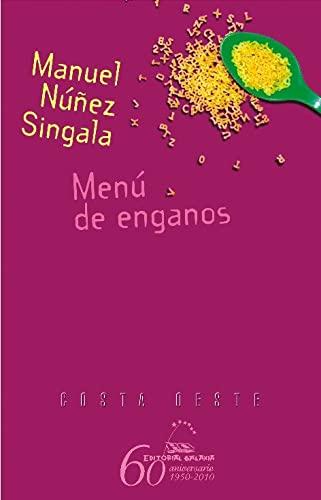 9788498652901: Menú de enganos (Costa Oeste)