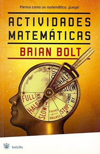 9788498670721: Actividades matematicas (NO FICCION)
