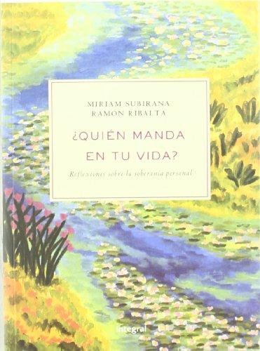 Quien manda en tu vida: Subirana Vilanova, Miriam