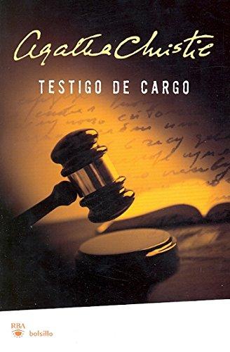 9788498676761: Testigo de cargo (FICCION)
