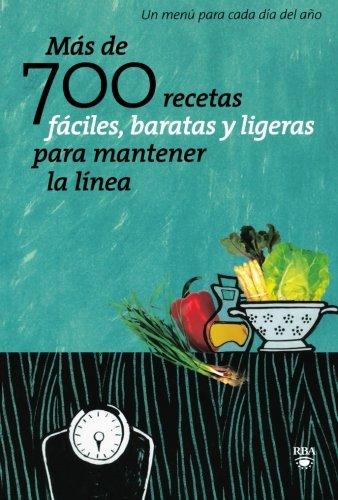 Mas de 700 recetas faciles, baratas y: Alvarez, Laura