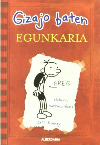 9788498683370: Greg gizajo baten egunkaria (Ostiral Saila)