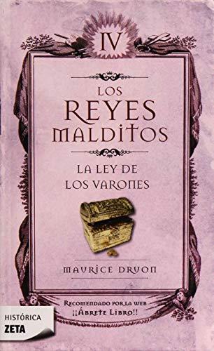 9788498721423: La ley de los varones (Los Reyes Malditos 4) (B DE BOLSILLO)