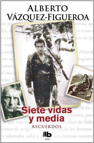 9788498725872: Siete vidas y media (Spanish Edition)