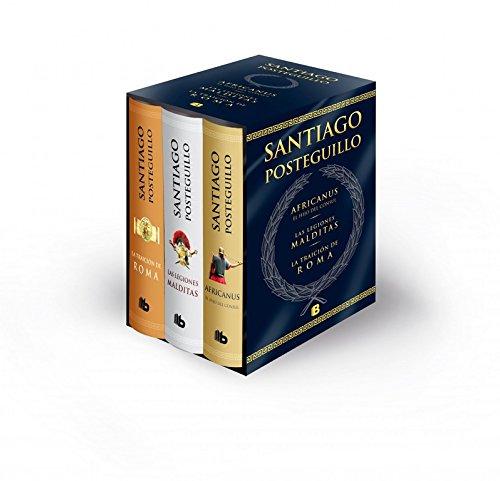 9788498727159: Trilogía Africanus: Edición estuche: El hijo del cónsul | Las legiones malditas | La traición de Roma (B DE BOLSILLO)