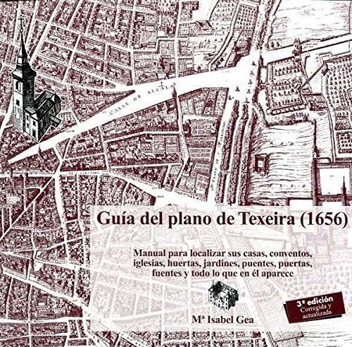 9788498732825: Guía del Plano de Texeira
