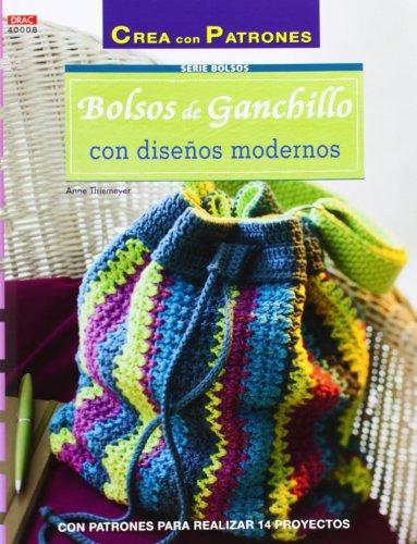 9788498743876: Crea Con Patrones. Serie Bolsos. Bolsos De Ganchillo Con Diseños Modernos - Número 8