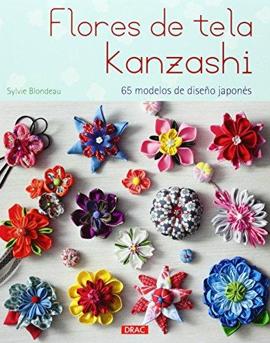 9788498744224: Flores de tela Kanzashi