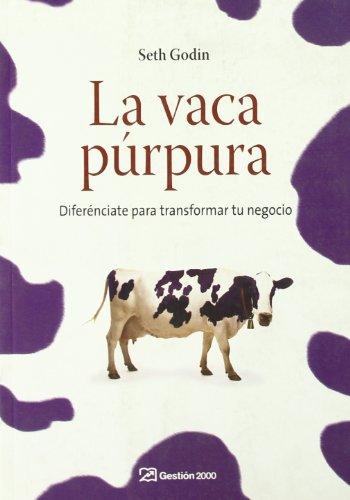 9788498750041: La vaca purpura