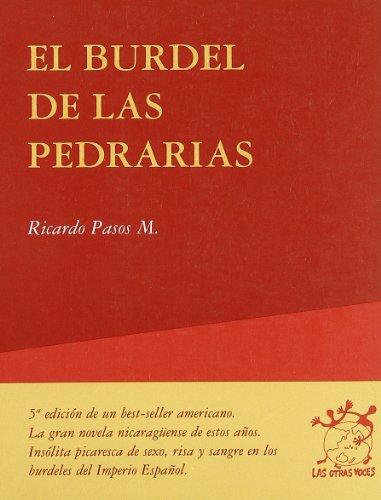 9788498753882: El Burdel de las Pedrarias (Otras Voces)