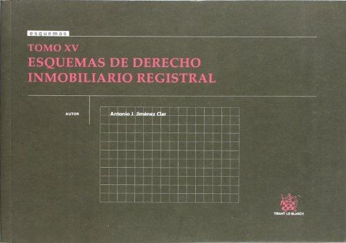 9788498760910: Tomo XV Esquemas de Derecho Inmobiliario Registral