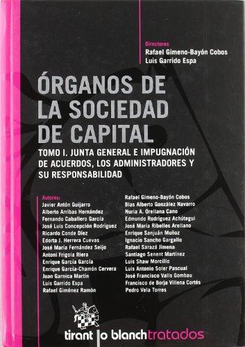 9788498761542: Órganos de la Sociedad de Capital 2 Tomos