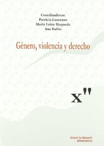 9788498762273: Género , violencia y derecho