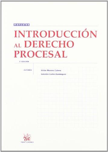 9788498762884: Introducción al Derecho Procesal